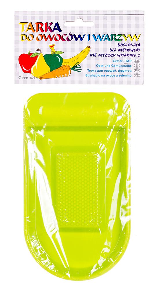 Терка Tega TR-050 для овощей и фркутов зеленая