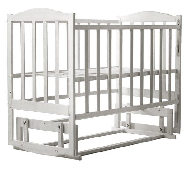 Кровать BabyRoom Зайчонок Z202 маятник береза слоновая кость