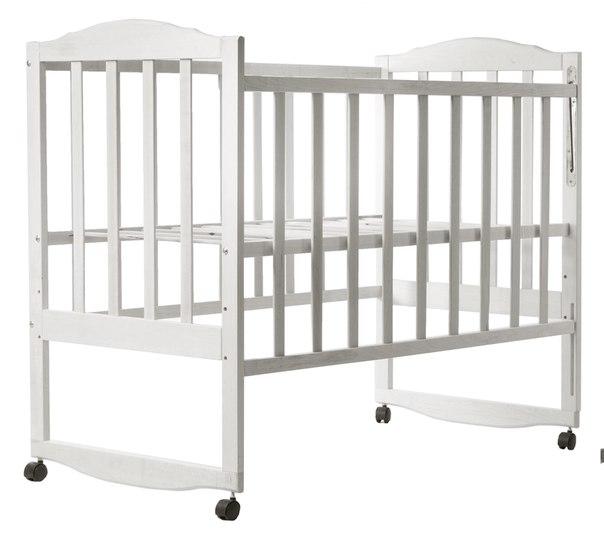 Кровать BabyRoom Зайчонок Z102 береза слоновая кость