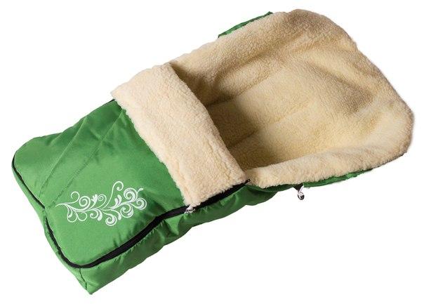 Зимний конверт Умка № 25 конверт с узором зеленый